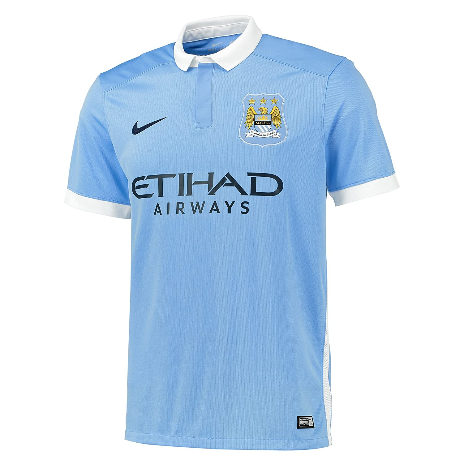 Manchester City Home 2015-16 Jersey