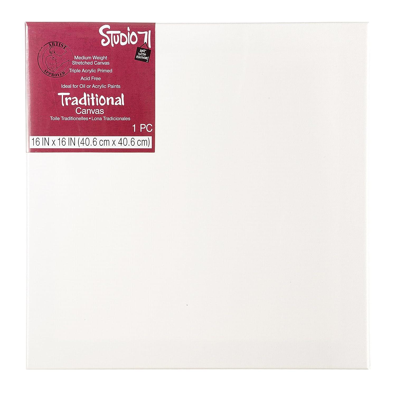 Darice Studio 71 Canvas Paper Pad Heavy Weight Medium Surface 9X12 Inches