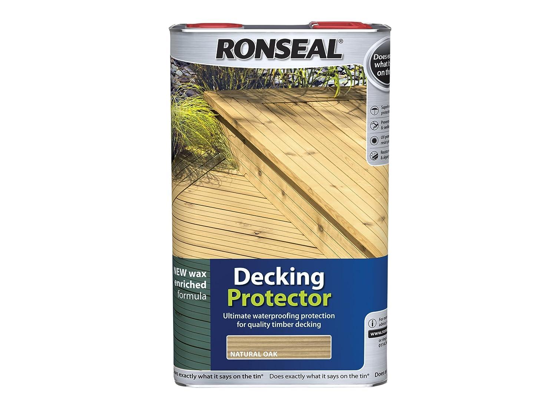 Ronseal DPN5L Decking Protector Natural 5 Litre RSLDPN5L