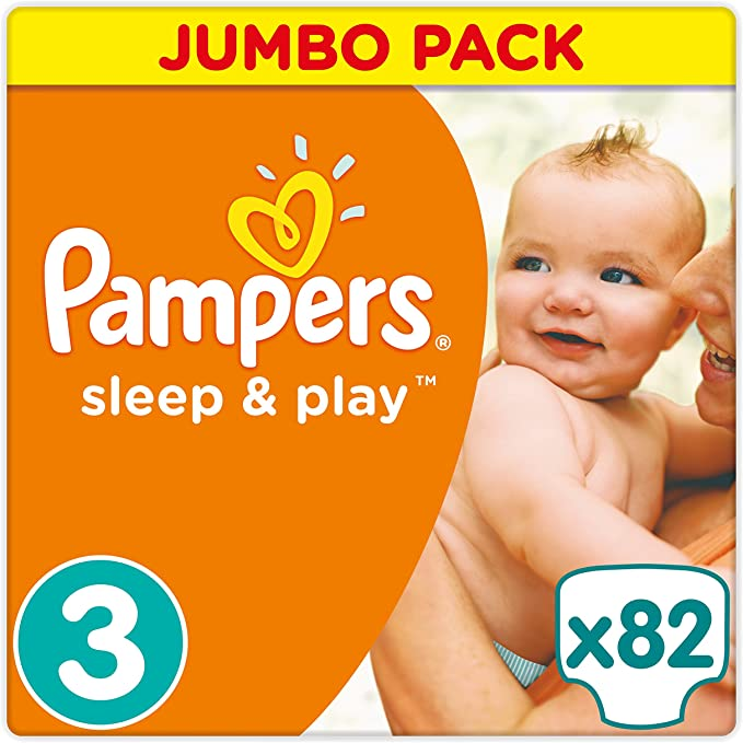 Pampers Pants, Sleep /& Play Premium Care Pampers Maxi Gr.4  Active Baby