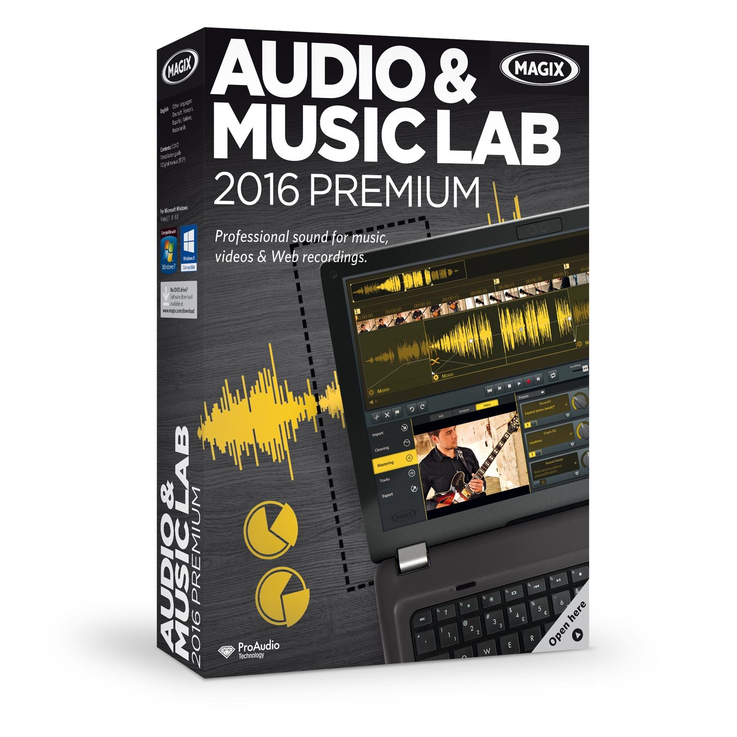 MAGIX Audio & Music Lab 2016 Premium by MAGIX