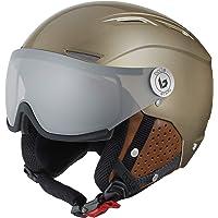 Bollé Unisex Backline Visor Kaski narciarskie złote dla dorosłych 59-61 cm
