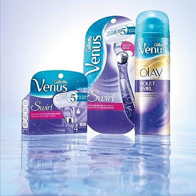 Gillette-Venus-Women's-Razor-Blade-Refills,-Swirl,6-Count