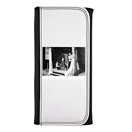 Yves Saint Laurent Crouching on stage Leatherette Wallet