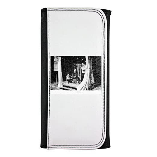 Yves Saint Laurent Crouching on stage Leatherette Wallet ...