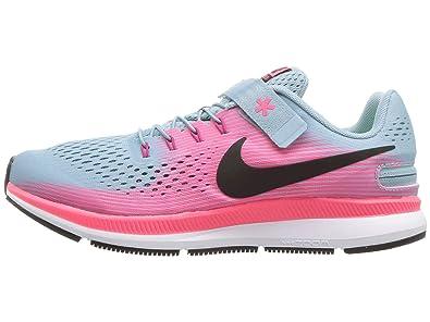 ed283013210c0 Nike Zoom Pegasus 34 Flyease (gs) Big Kids 918022-400 Size 2