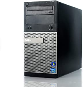 Dell Optiplex 390 Tower Business High Performance Desktop Computer PC Wi-Fi (Intel Quad-Core i5-2400 up to 3.4GHz, 8GB DDR3 Memory, 2TB HDD, DVD, Windows 10 Pro 64-bit HDMI (Renewedd)