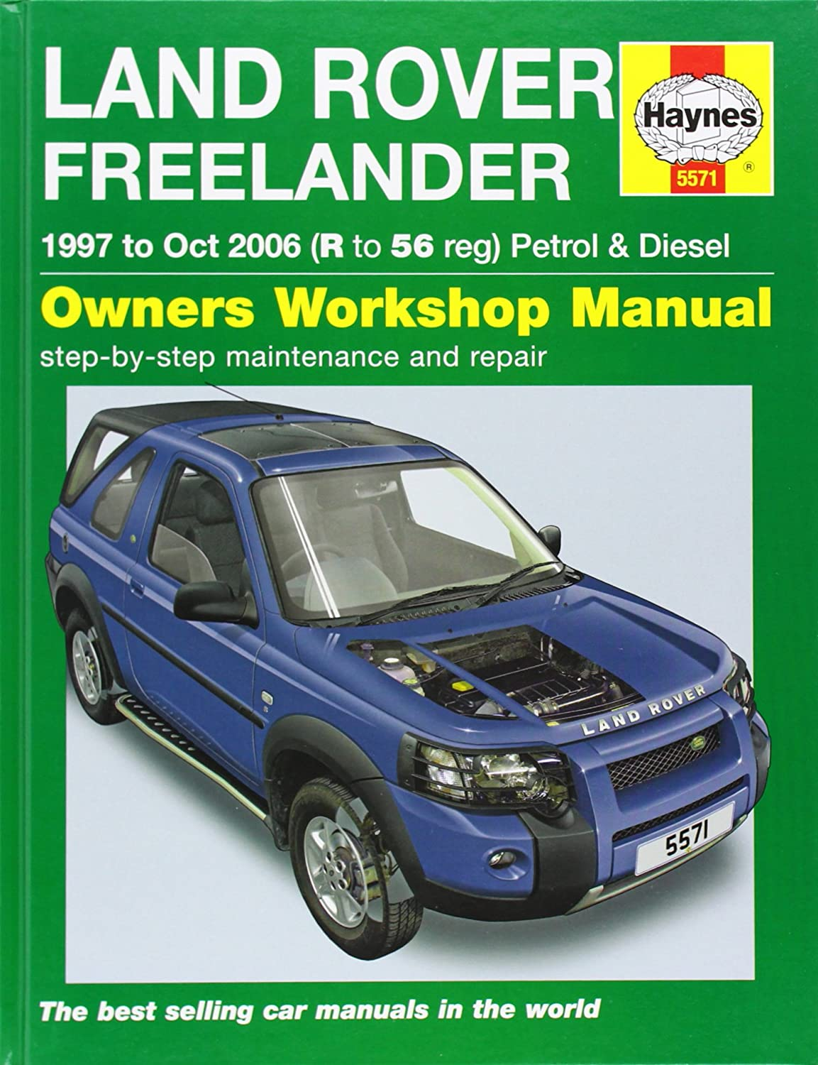 Land Rover Freelander Service and Repair Manual: 1997-2006 (Haynes Service  and Repair Manuals): Martynn Randall, R. M. Jex: Amazon.co.uk: Car &  Motorbike