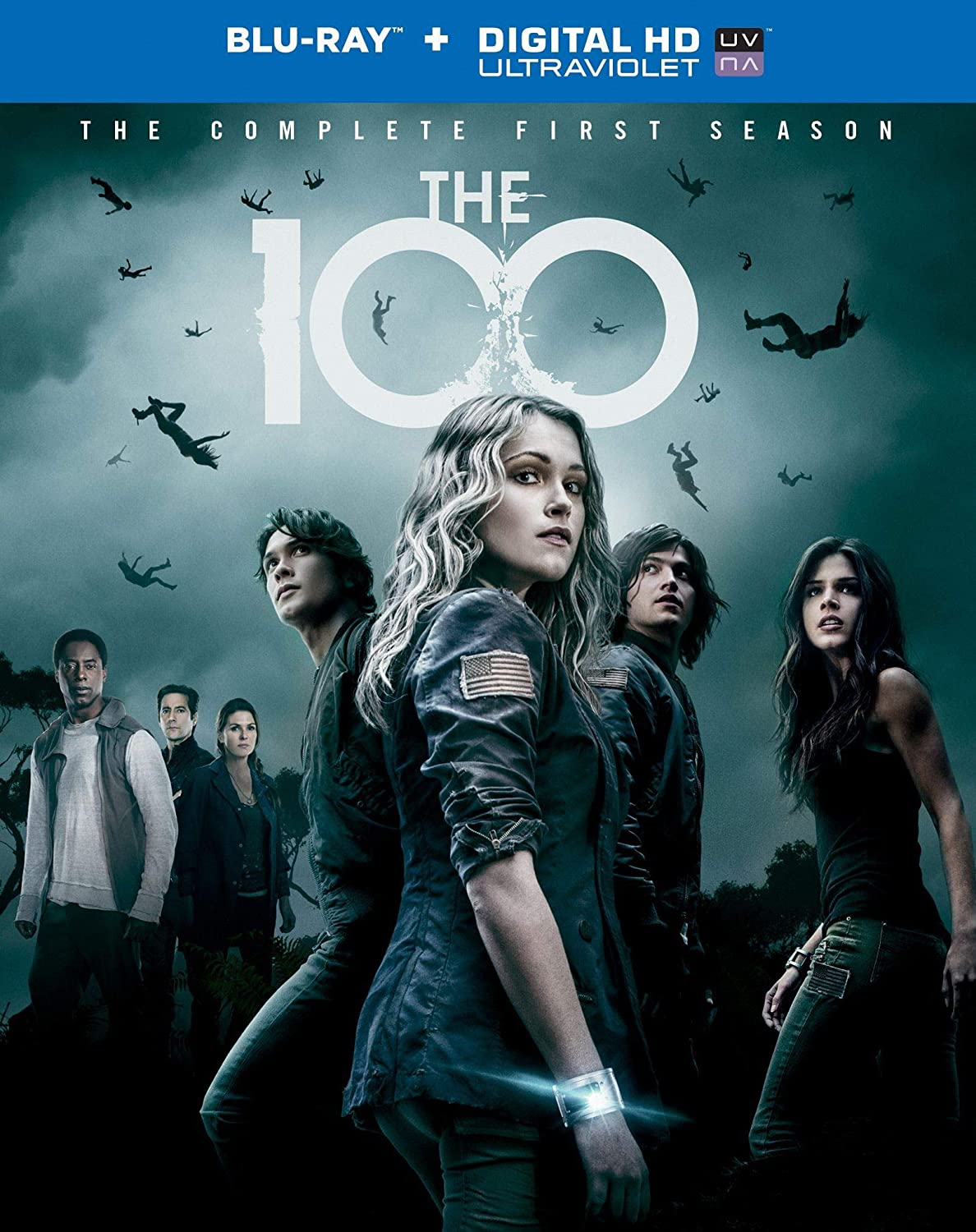 The 100: The Complete Season 1 Blu-ray + Digital HD + UV Slipcase ...