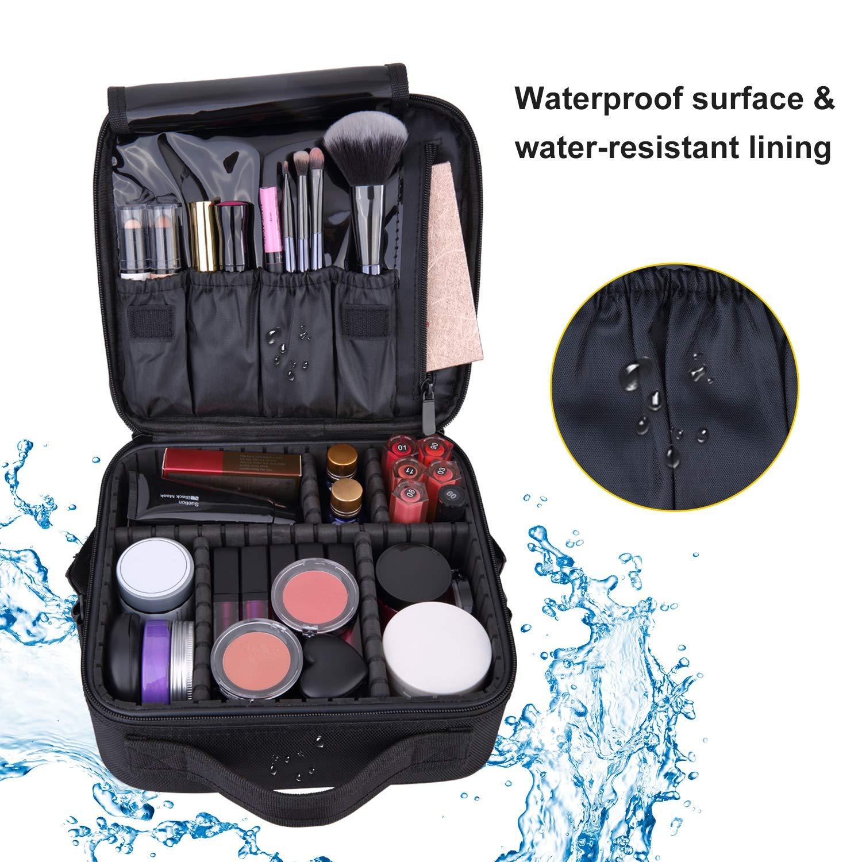 Amazon.com: ARTIFUN Bolsa de maquillaje de viaje: Beauty