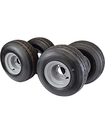 18x8.50-8 with 8x7 Gray Assembly for Golf Cart and Lawn Mower (