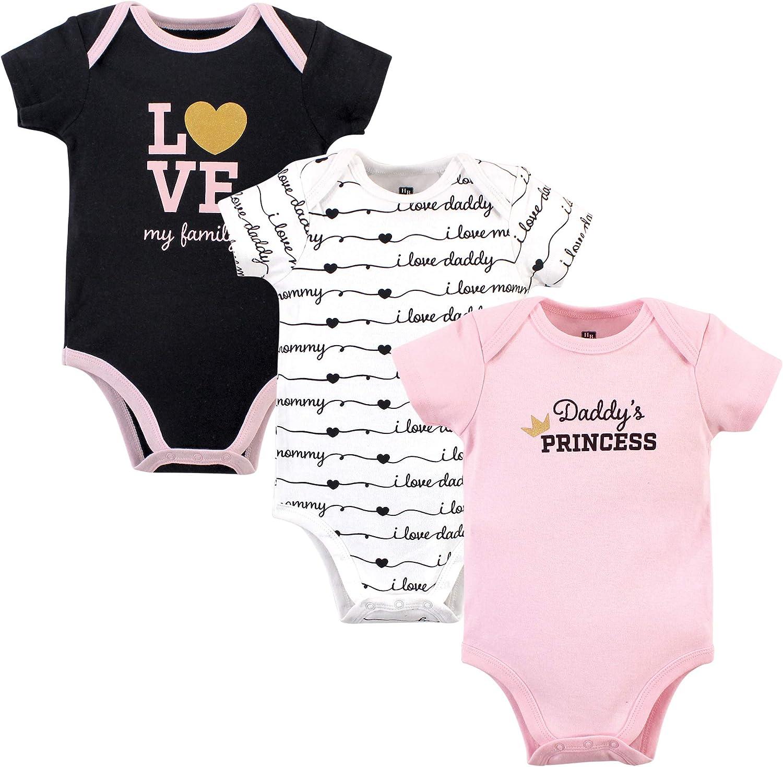 Hudson Baby Baby Girls Cotton Bodysuits