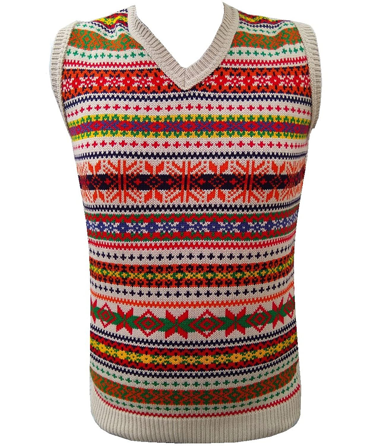 Men's Vintage Sweaters, Retro Jumpers 1920s to 1980s London Knitwear Gallery Retro Vintage Knitwear Tanktop Sleeveless Golf Sweater £19.99 AT vintagedancer.com