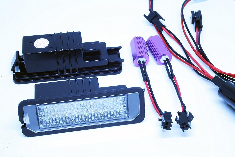 Led Kennzeichenbeleuchtung Canbus Module Mit E Zulassung V 030601 Auto