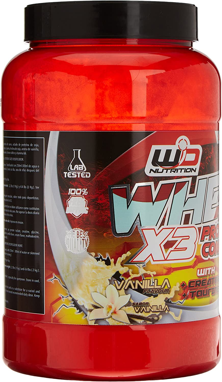 WD Nutrition - Proteina, sabor vanilla - 1000 gr: Amazon.es ...