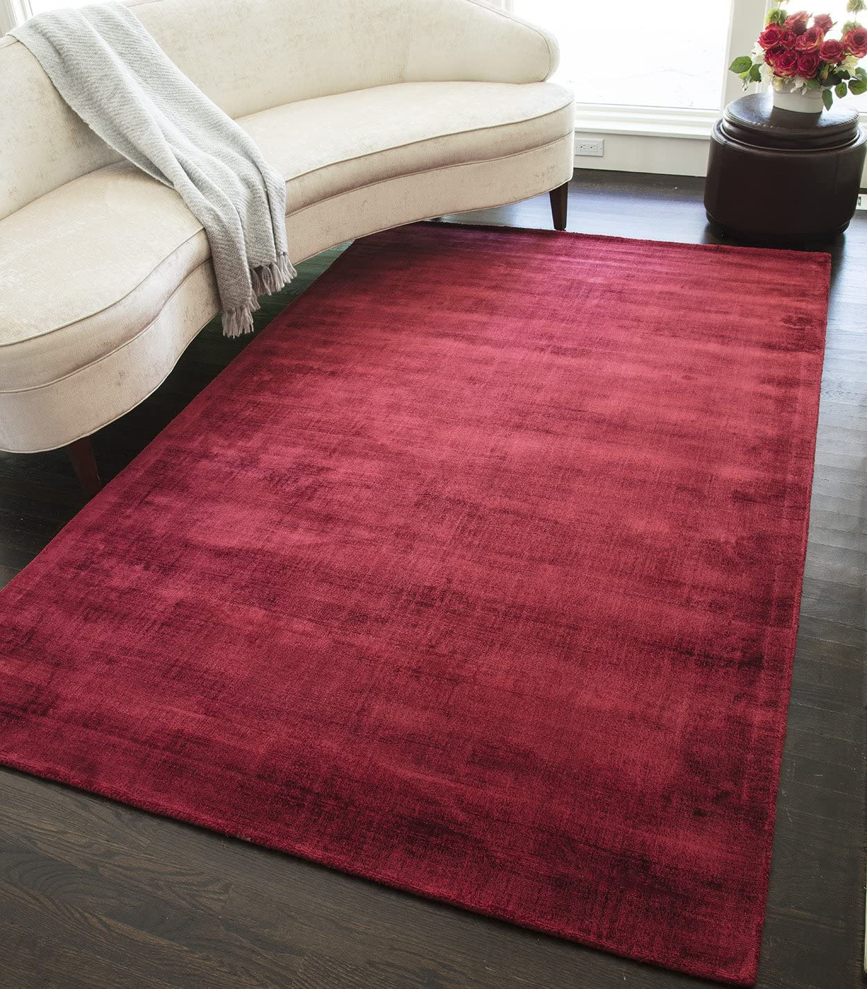 Unique Loom Autumn Collection Casual Rustic Warm Toned Terracotta Area Rug 9 0 x 12 0