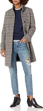 Cole Haan Women's Glennplaid Single Breasted Wool Coat