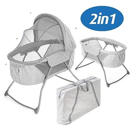 Fillikid Minicuna de viaje plegable bebé 90x40 cm - Cuna ...