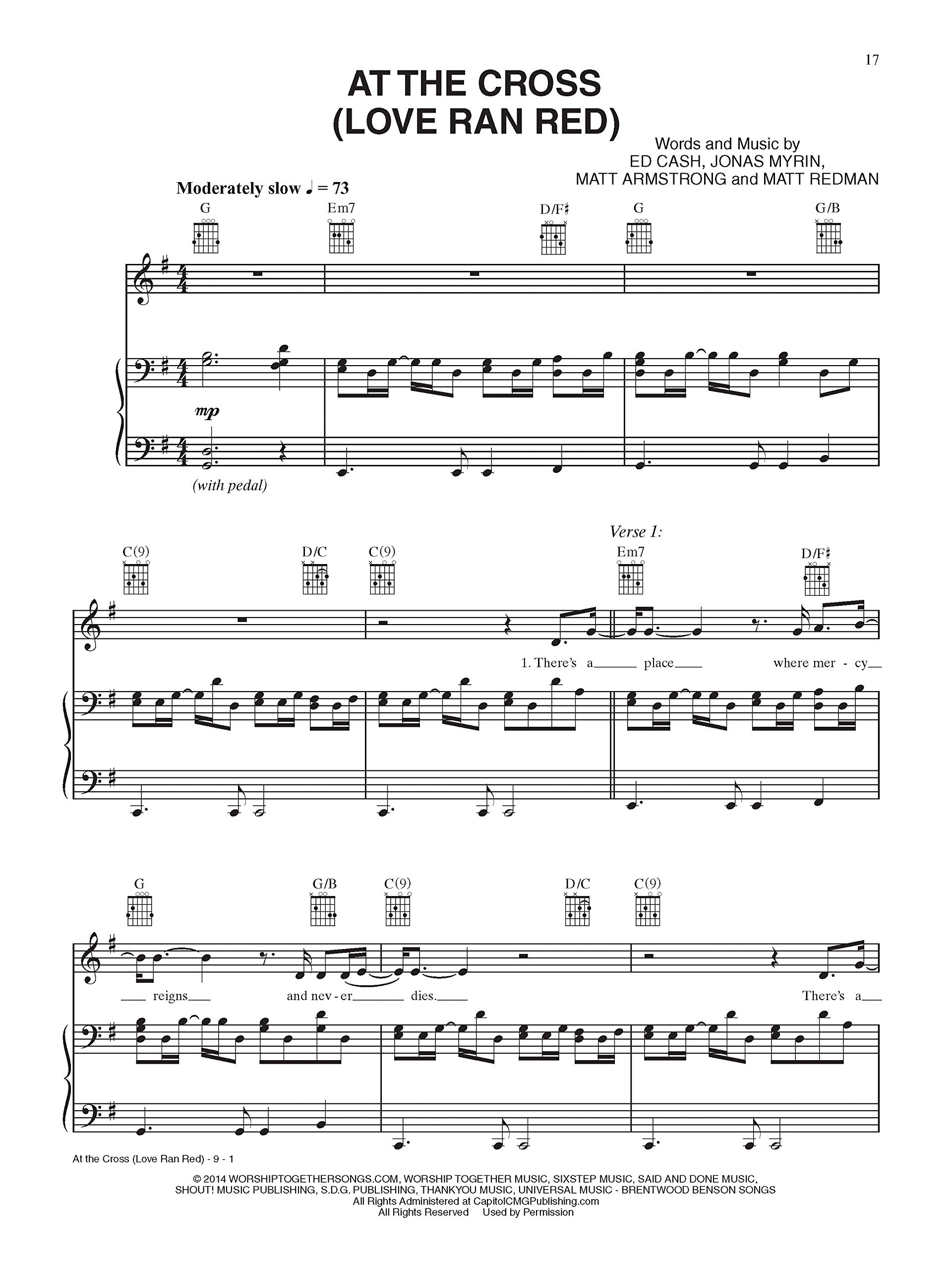 Forever Love Francesca Battistelli Piano Sheet Music