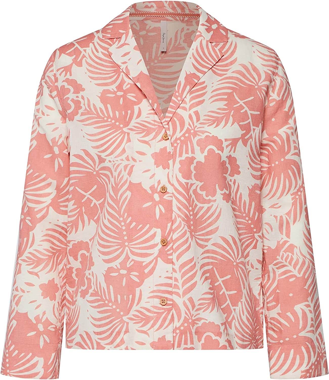 Pepe Jeans Camisa Jane Tropical Mujer: Amazon.es: Ropa y accesorios