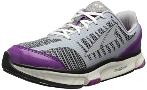 Altra Disposición 2.0 Zero Drop Zapatillas Running Blanco/Morado Mujer: Amazon.es: Zapatos y complementos