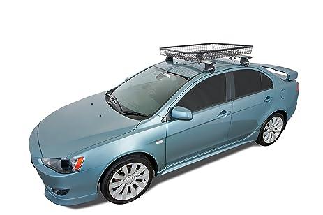 Amazon.com : Rhino Rack Wire Mesh Basket With MultiPurpose U Bolt Fit Kit,  46 X 35 X 5 Inch : Automotive Bike Racks : Sports U0026 Outdoors