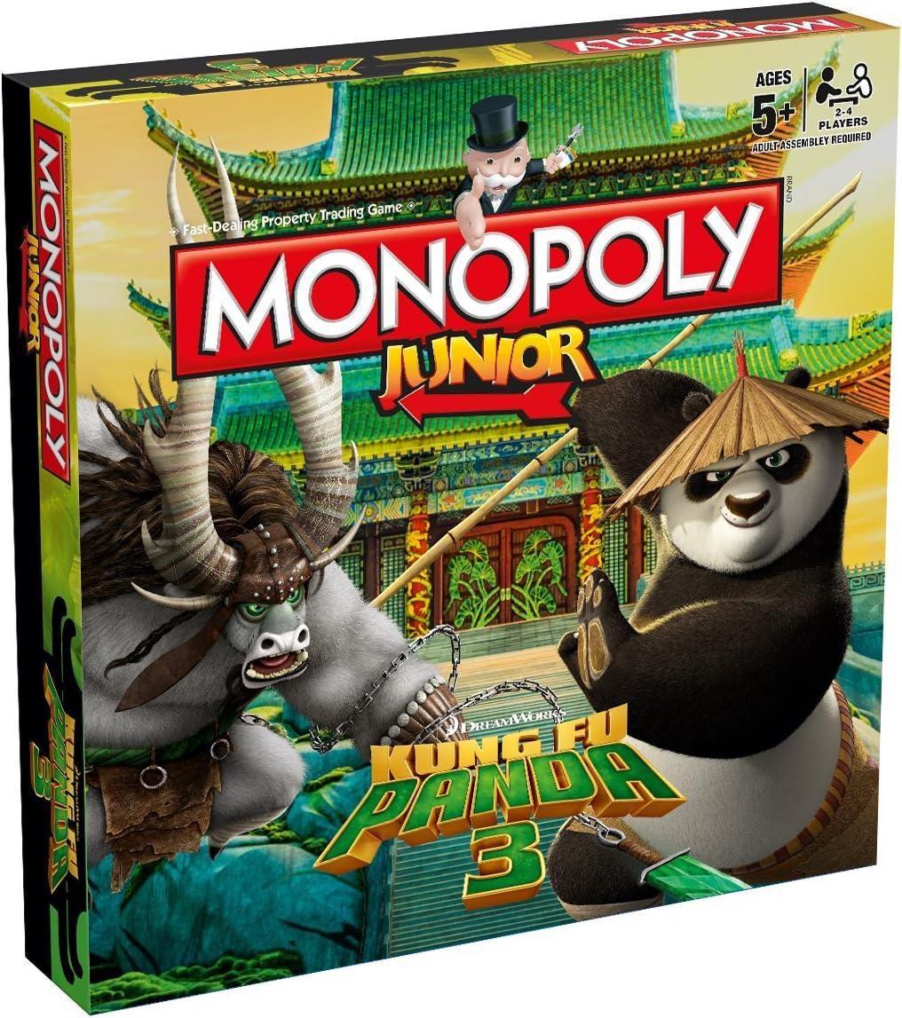 Kung Fu Panda) - Kung Fu Panda 3 Monopoly Junior Board Game: Amazon.es: Juguetes y juegos
