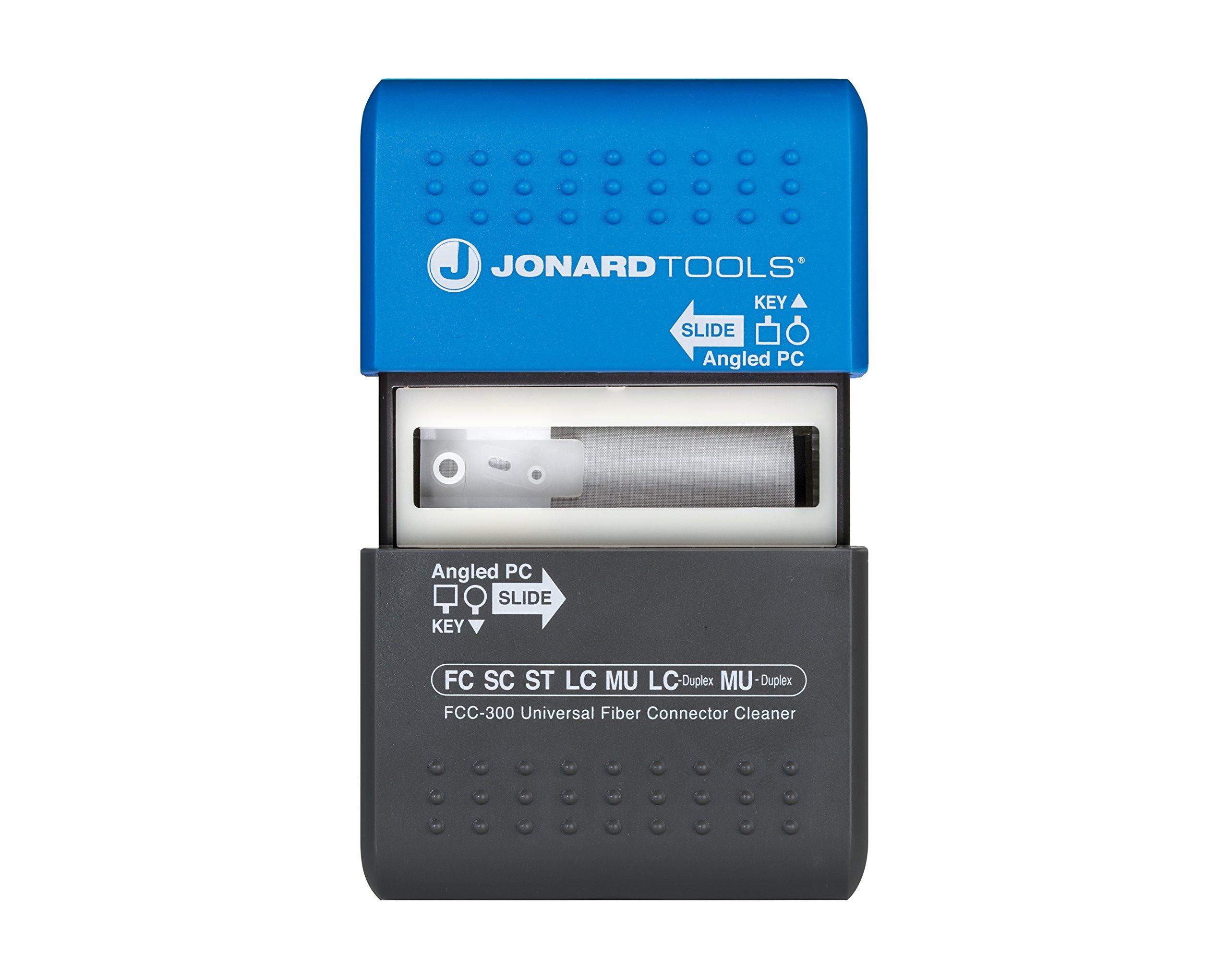 Jonard Tools FCC-300 Universal Fiber Connector Cleaner