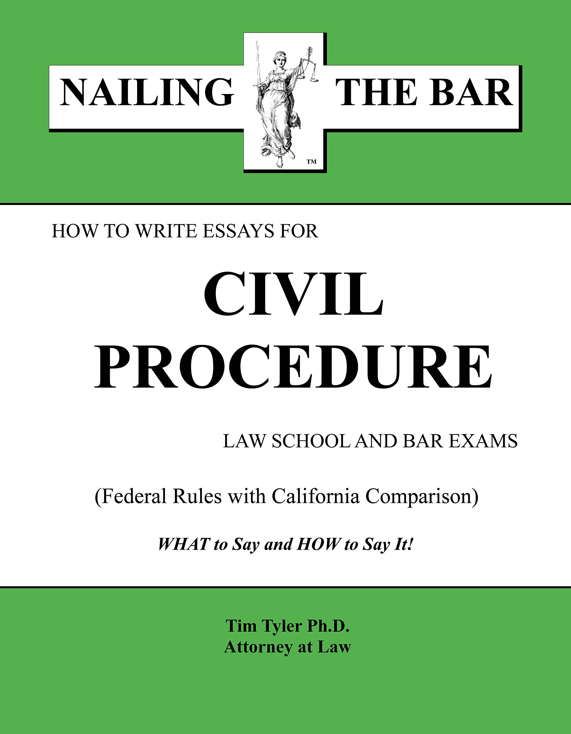 Download How to Write Essays for Civil Procedure Law School and Bar Exams ebook
