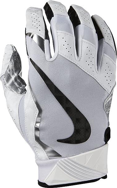 c2fdb3c4db9 Amazon.com  Nike Men s Vapor Jet 4 Football Gloves-Black Metallic ...
