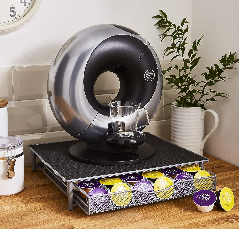 Cajón para 36 cápsulas de café compatible con Dolce Gusto y 4 tazas de café: Amazon.es: Hogar