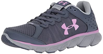 Under Armour Women's Micro G Assert 6, Apollo Gray (104)/Overcast Gray