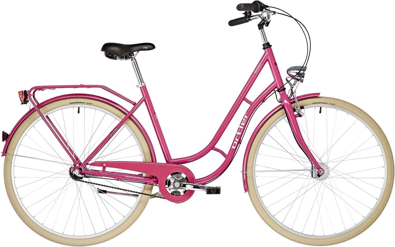 ORTLER Detroit 3s EQ - Bicicleta Holandesa - Rojo Berry 2019 ...