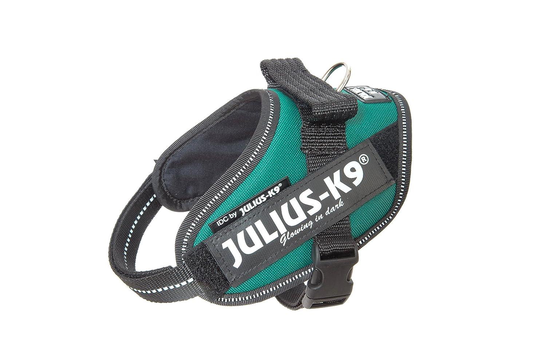 Julius-K9 16IDC-DG-MM IDC Power Harness, Size  Mini-Mini (40-53cm 15.5-21 ), Dark Green