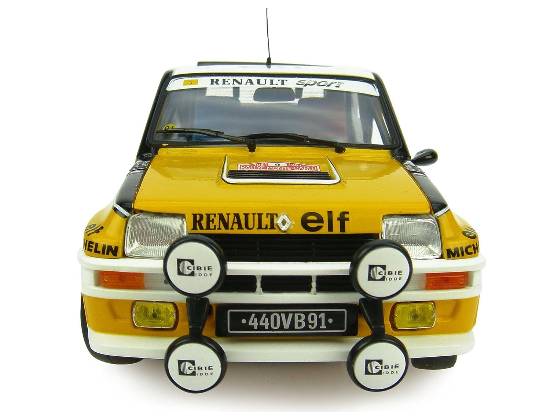 Renault 5 Turbo N º 9 - 1981 Ganador del Rally de Monte Carlo: Amazon.es: Juguetes y juegos