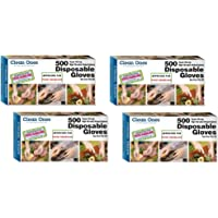 Clean Ones 513017 500 Count Disposable Poly Gloves