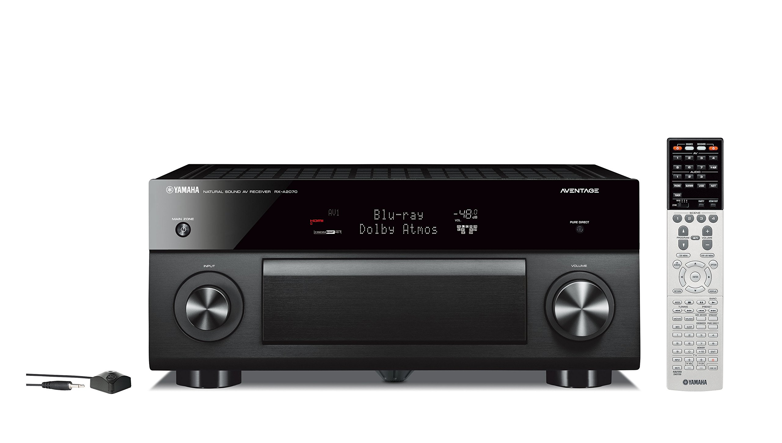 Yamaha AVENTAGE Audio & Video Component Receiver,Black (RX-A2070BL)