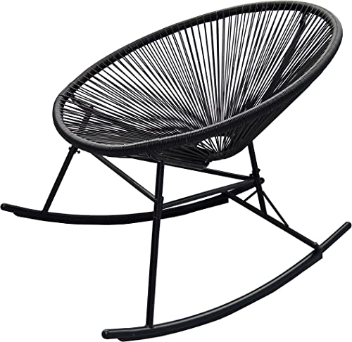 PatioPost Outdoor Acapulco Sun Weave Lounge Patio Rocking Chair