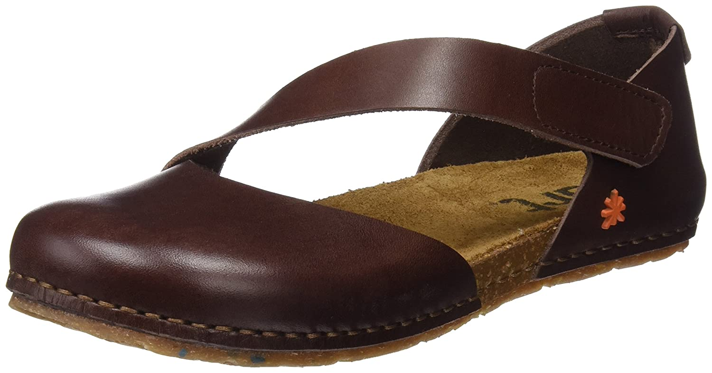 ea0cec119c6 Art Women s 0442 Mojave Vachetta Brown Creta Closed Toe Sandals   Amazon.co.uk  Shoes   Bags