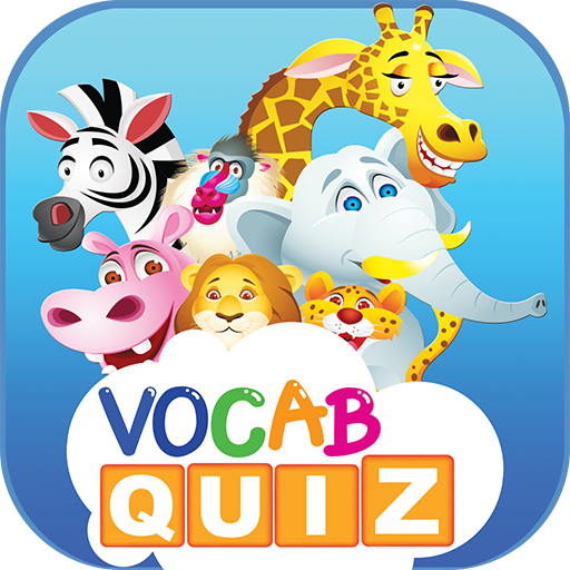 Kids Vocabulary Games : animals and fruits english vocab quiz game app for your children educational learning free