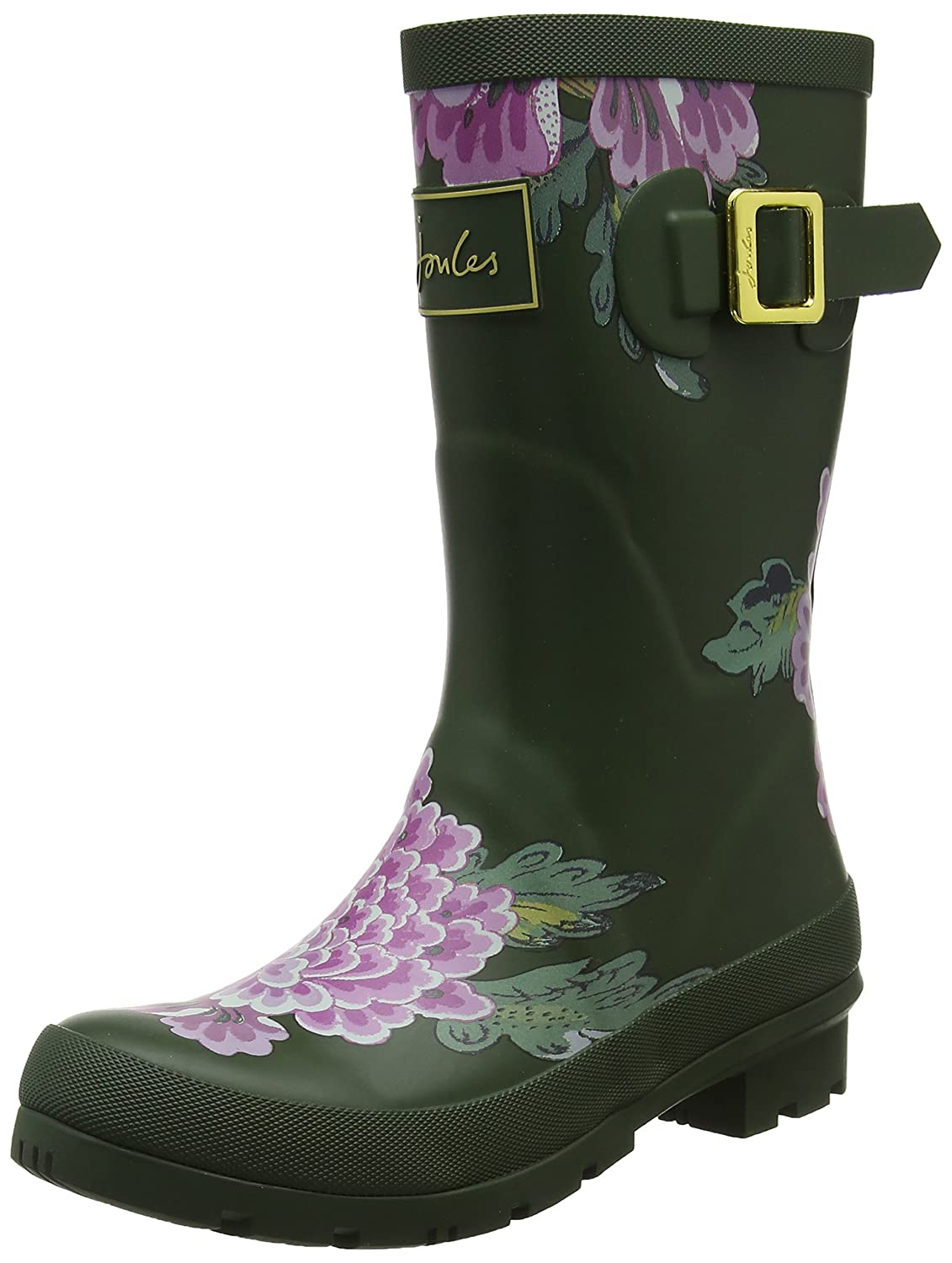 Joules Mollywelly, Botas, Mujer38 EU|Verde (Grape Leaf Chinoise Glfchin)
