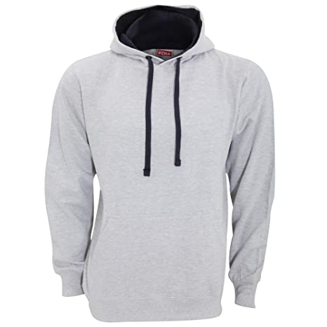 Amazon.com: fdm Unisex Contrast Hooded Sweatshirt/Hoodie (300 GSM): Clothing