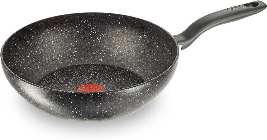 Wok titanio Tefal C6451942 color negro