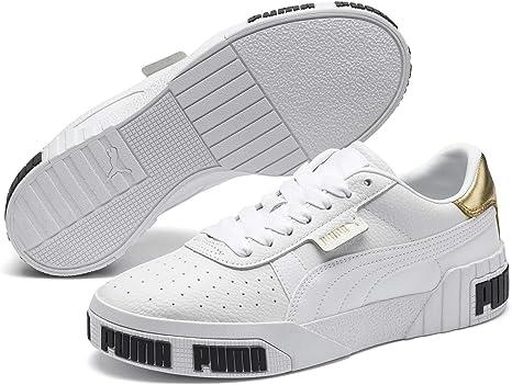 puma nera donna sneakers metallic