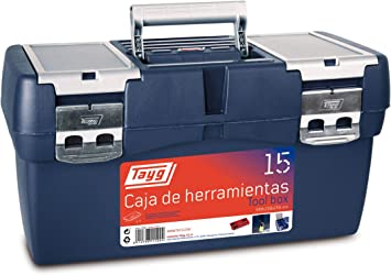 Tayg Caja herramientas plástico n. 15, negro, 500 x 258 x 255 mm ...