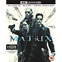 The Matrix (4K UHD + Blu-ray + Digital Download) (3-Disc Box Set) (Slipcase Packaging + Region Free + Fully Packaged Import)