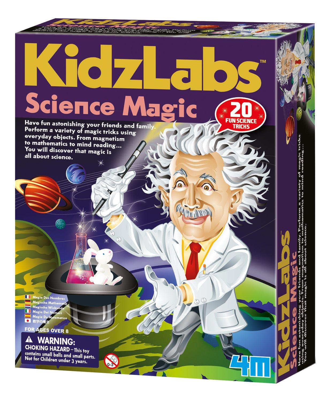 4 m Kidz Labs Wissenschaft Magic Hypnotic Spinner
