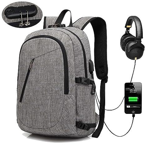 4f83fc442800 XQXA Laptop Backpack