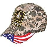SNAPKING US Army Cap Military Camo Baseball Hat Mens