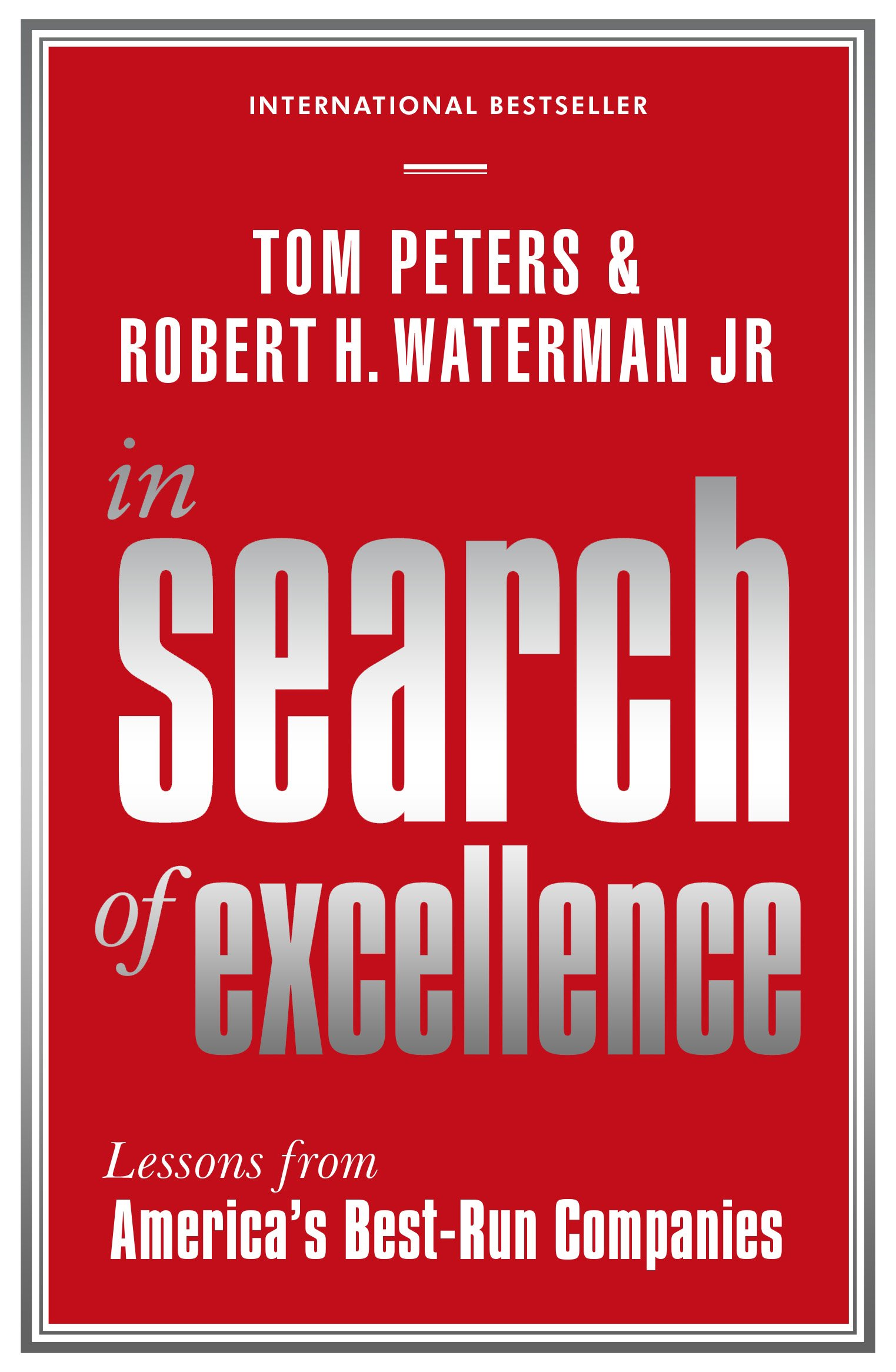 In Search of Excellence Profile Business Classics Amazon Tom Peters Robert H Waterman Fremdsprachige Bücher